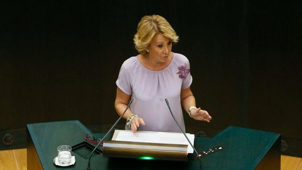 Foto: La dirigente popular Esperanza Aguirre. (EFE)