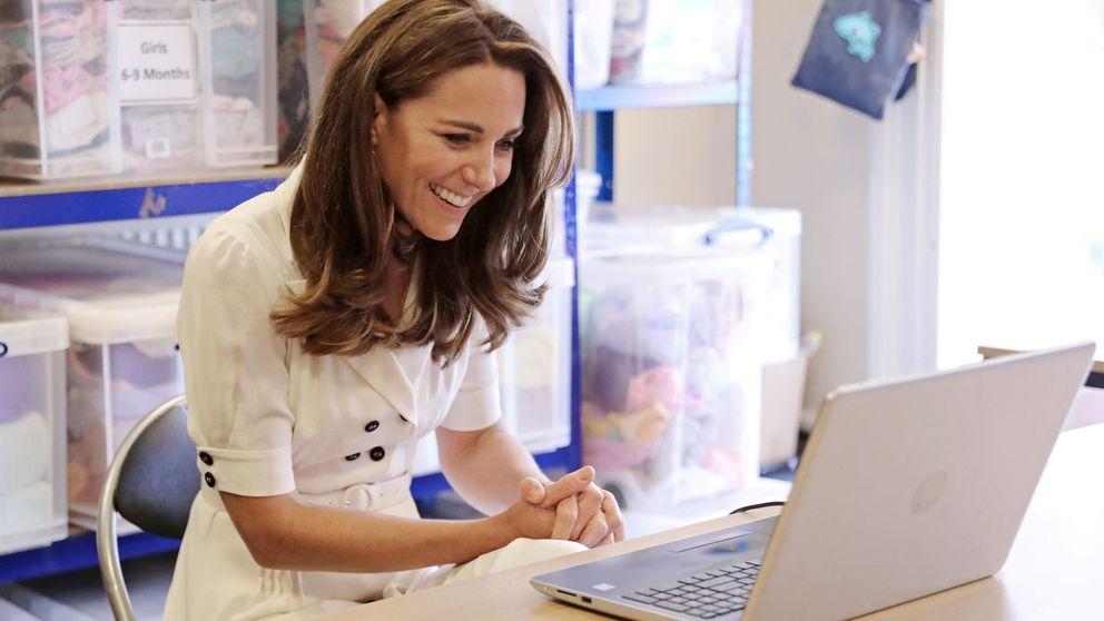 Kate Middleton, a sus pies: el emocionante gesto con un niño que ha enamorado a UK