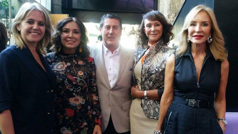 Rosa Tous, Isabel Gemio, Miguel Gallego, María Ángeles Grajal, Carmen Lomana.