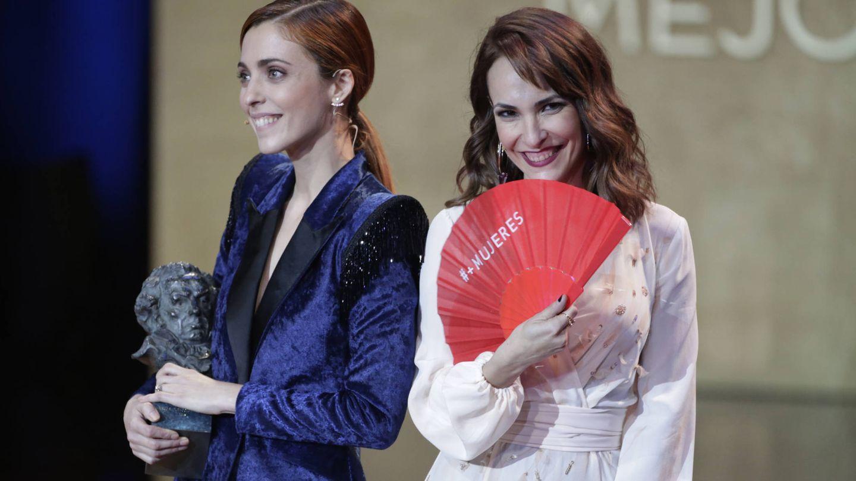 Leticia Dolera y la directora Paula Ortiz.(Gtres)