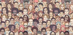 Post de Acertijo viral: ¿eres capaz de encontrar a la persona con los ojos cerrados?