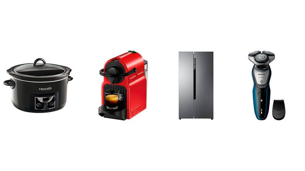 Las mejores ofertas de electrodomésticos de El Corte Inglés en Black Friday 2019