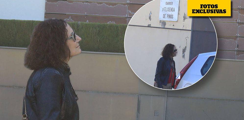 Foto: Paloma Rocasolano visita Pedralbes en un montaje realizado por Vanitatis.