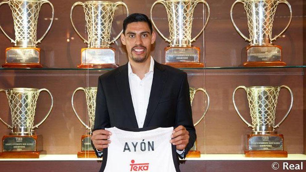 Gustavo Ayón firma con el Madrid para las dos próximas temporadas