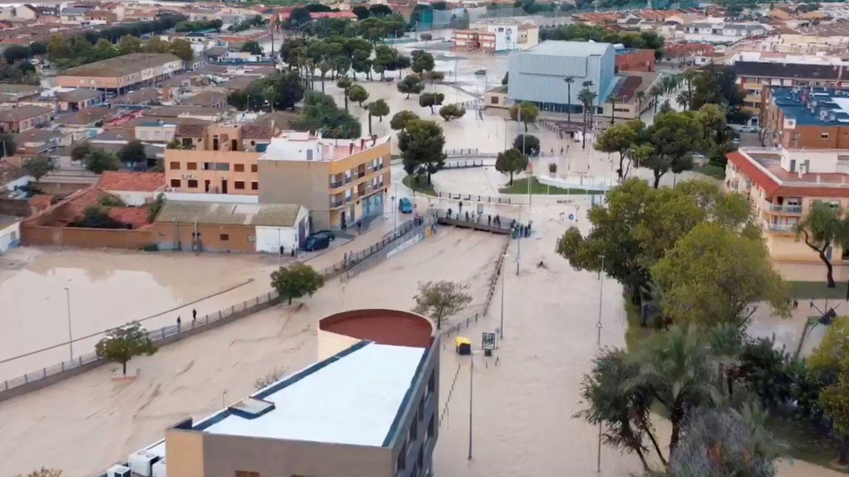 Inundaciones en la Región de Murcia (EFE)