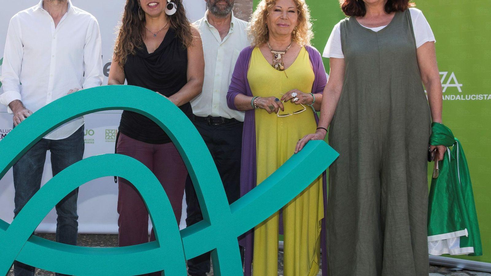 Foto: Presentación de Podemos Andalucía. (EFE)