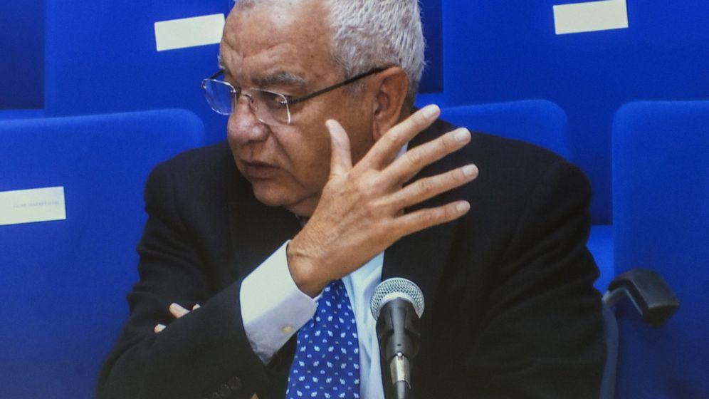 Foto: Francisco Roig, expresidente del Valencia, durante el juicio del 'caso Nóos' (Efe).