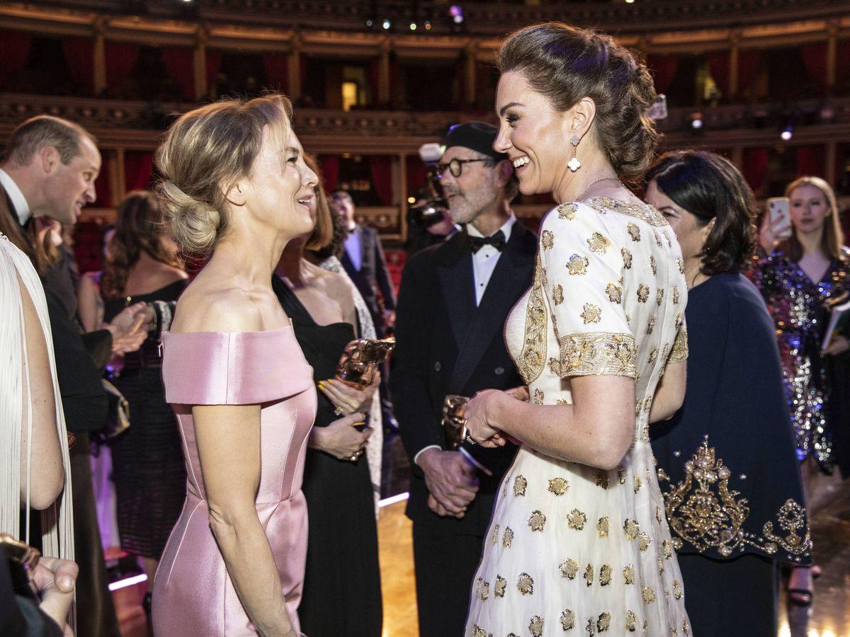 Foto: Renée Zellweger y Kate Middleton. (Getty)