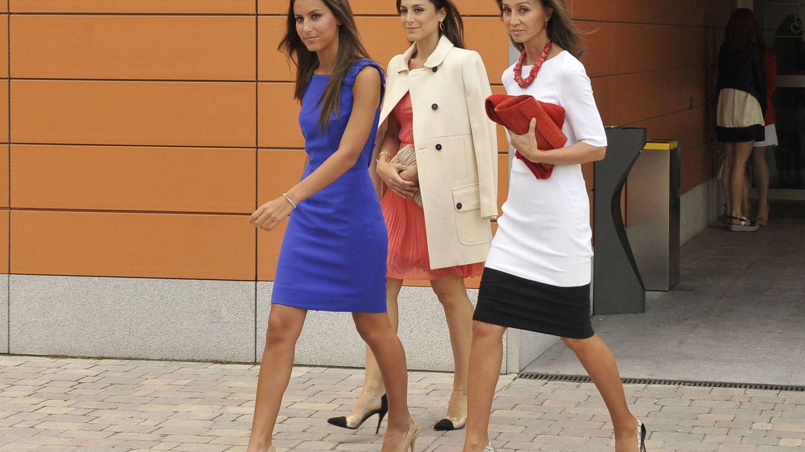 Foto: Isabel Preysler, Tamara Falcó y Ana Boyer, en una imagen de archivo. (Gtres)