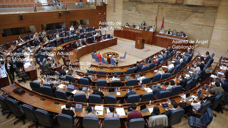 El vodevil de los asientos: Monasterio exige estar al mismo nivel que Podemos y Cs