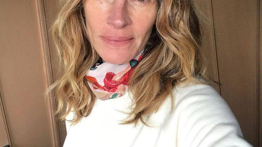 De Julia Roberts a Victoria Beckham: las celebs dicen no al maquillaje en la cuarentena