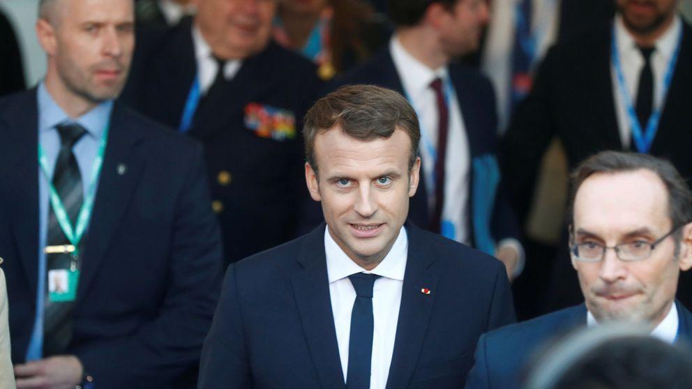 """Macron: """"Solo conozco un interlocutor: España y Mariano Rajoy"""""""