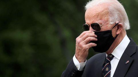 Biden reaparece con mascarilla y Trump le acusa de ser débil con China: Se volvió loco