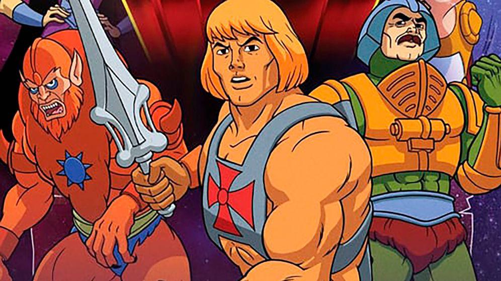 Foto: Imagen de 'He-Man y los 'Masters del Universo'. (Mattel)