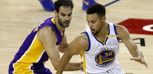 Post de Calderón cierra su salida de los Lakers y Curry le espera para luchar por el anillo
