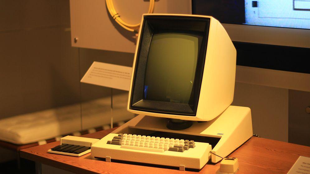 Foto: Xerox Alto fue el primer ordenador en disponer de escritorio
