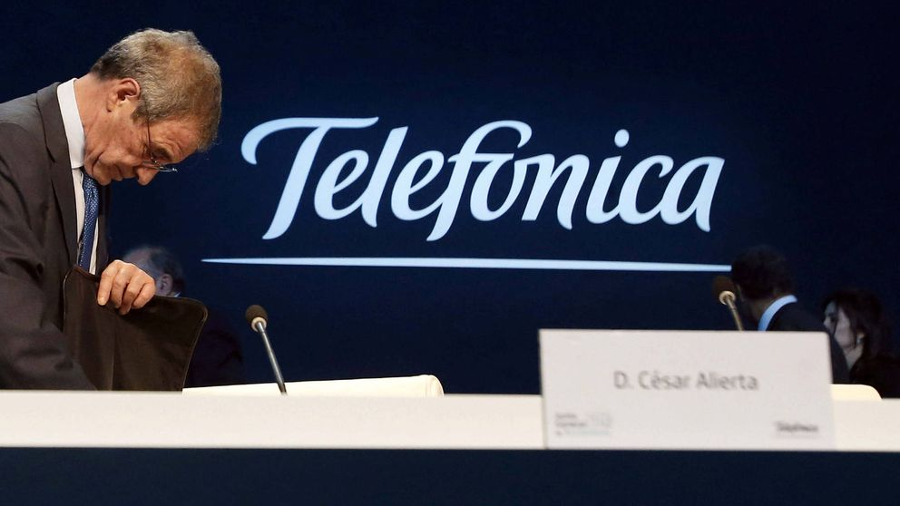 Villalonga telefonica stock options