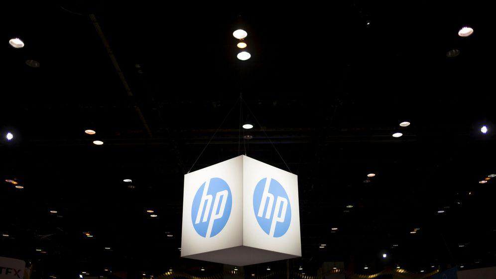 Foto: El logo de HP. (Reuters)