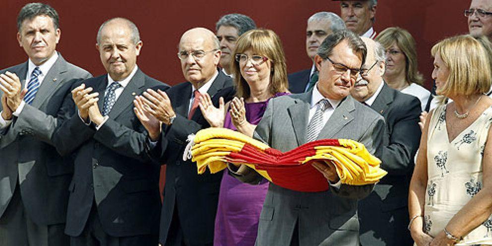 """Foto: CiU se echa al monte forzado por el 11-S: """"Iremos a un proceso secesionista"""""""