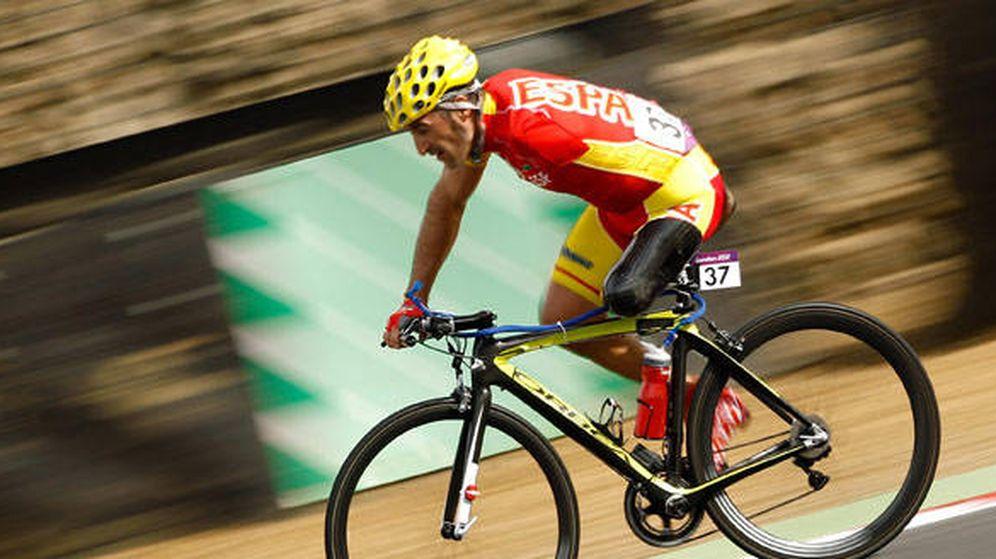 Foto: Juanjo Méndez, con el maillot de España. (CPE)