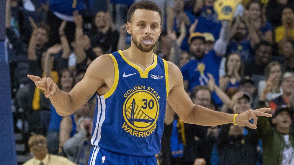Foto: Stephen Curry va camino de realizar su mejor temporada. (USA TODAY Sports)