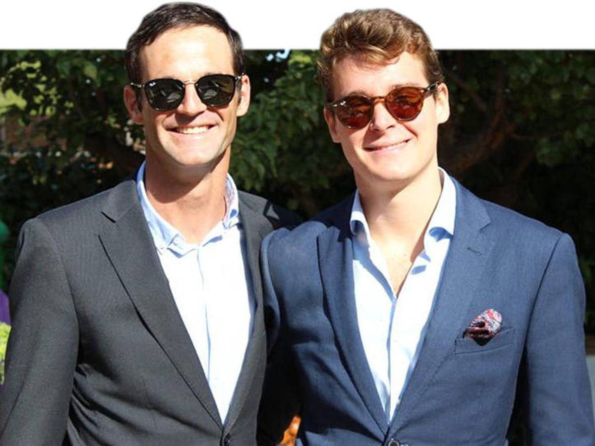 Foto: José Bono Jr. y su novio, Aitor. (EFE)