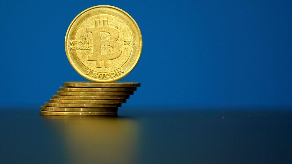 Foto: Ilustración en La Maison du Bitcoin, en París. (Reuters)