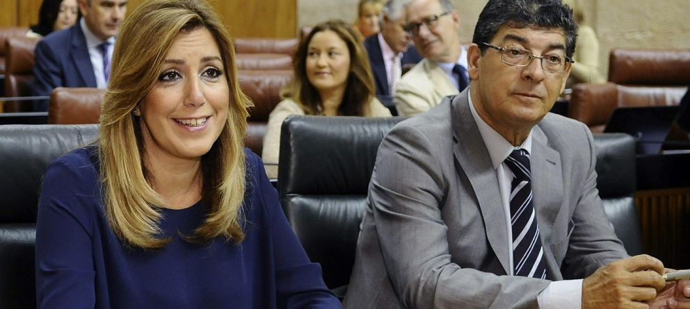 Foto: La presidenta de la Junta de Andalucía, Susana Díaz, y el vicepresidente andaluz, Diego Valderas (EFE)