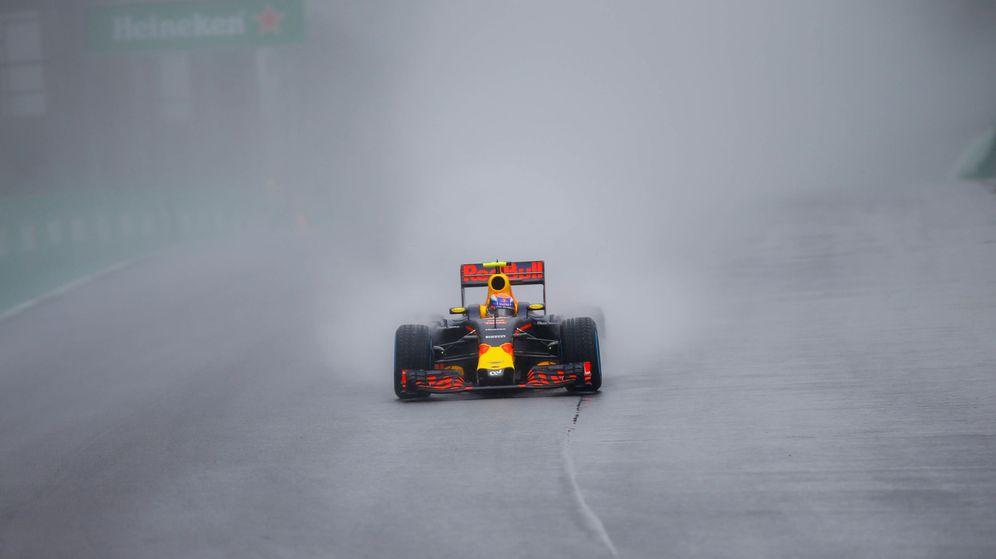 Foto: Max Verstappen, durante el GP de Brasil.