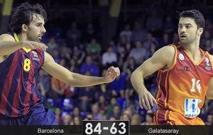 El Barça se aprovecha de un débil Galatasaray y ya mira a la fase final