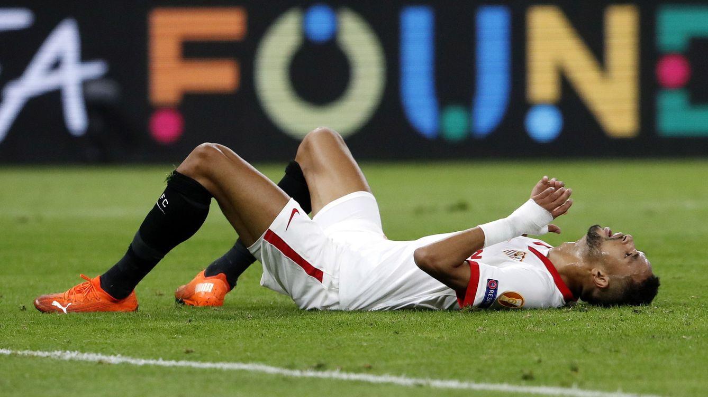 El fallo de En-Nesyri, solo ante Neuer, que pudo dar la victoria al Sevilla en el minuto 88