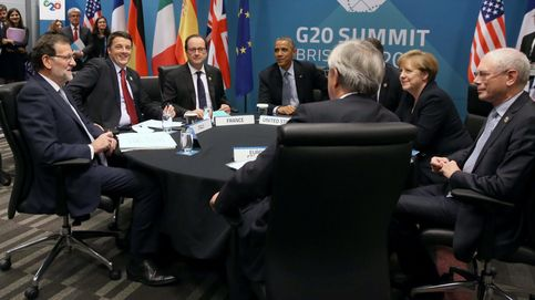 Trío de ases en el Eurogrupo: Merkel, Renzi y Hollande apoyan a Guindos