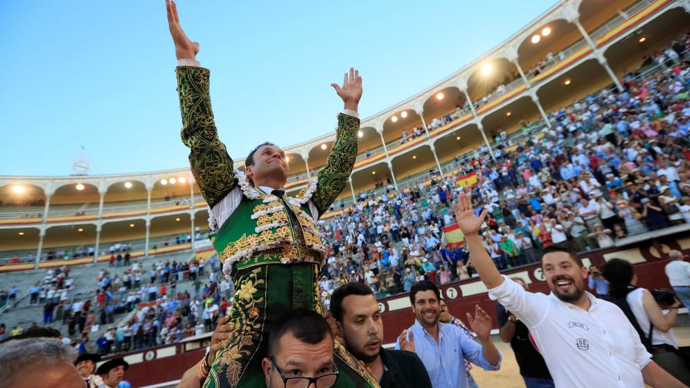 Foto: El diestro Antonio Ferrera. (EFE)