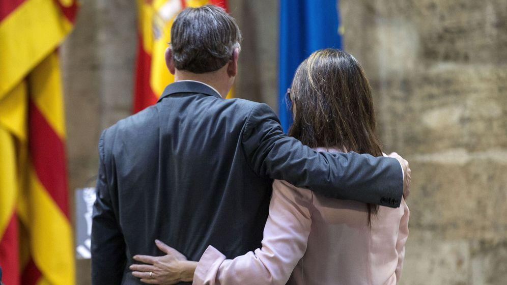 Foto: Ximo Puig y Mónica Oltra, presidente y vicepresidenta de la Generalitat valenciana, respectivamente. (EFE)
