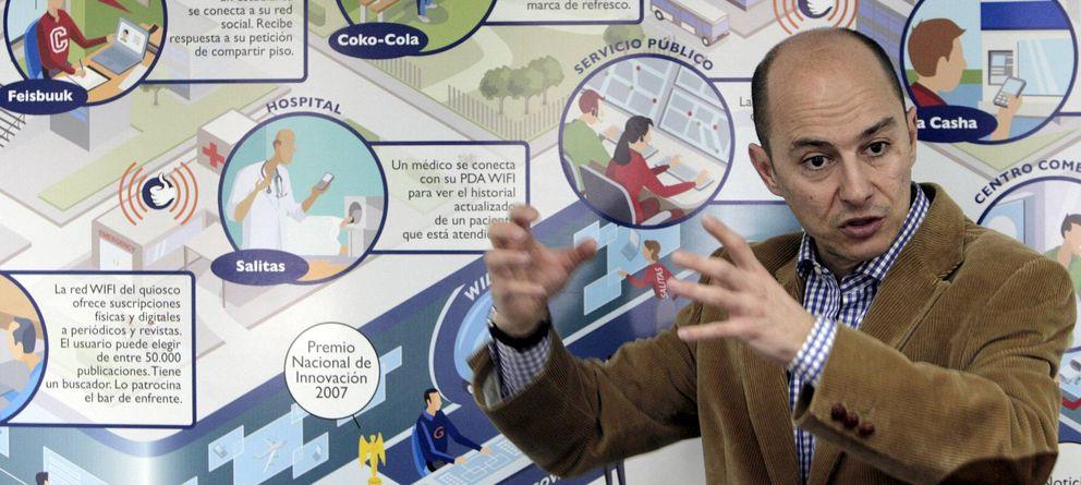 Foto: El consejero delegado y fundador de Gowex, Jenaro García. (Efe)