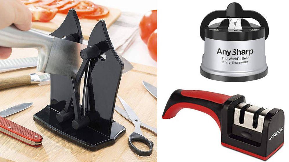 Foto: Los mejores afiladores de cuchillos del mercado