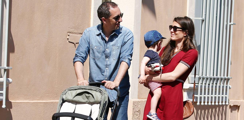 Foto: Gad Elmaleh con Carlota y su hijo Raphaël (Gtres)