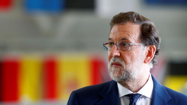 Foto: El presidente del Gobierno, Mariano Rajoy, comparece este miércoles ante la Audiencia Nacional (EFE)