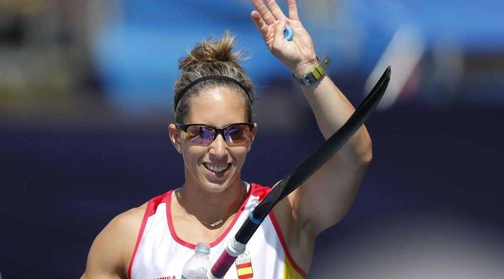 Foto: La española Teresa Portela Rivas tras la semifinal de Kayak 200m individual de los Juegos Olímpicos de Río. (EFE)