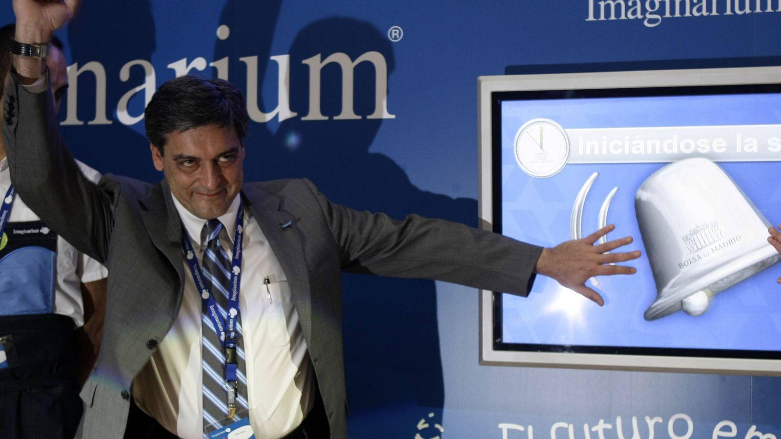 Foto: El presidente de Imaginarium, Félix Tena. (Reuters)