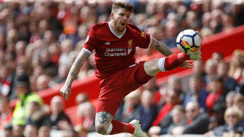 Alberto Moreno en el Liverpool. (Reuters)
