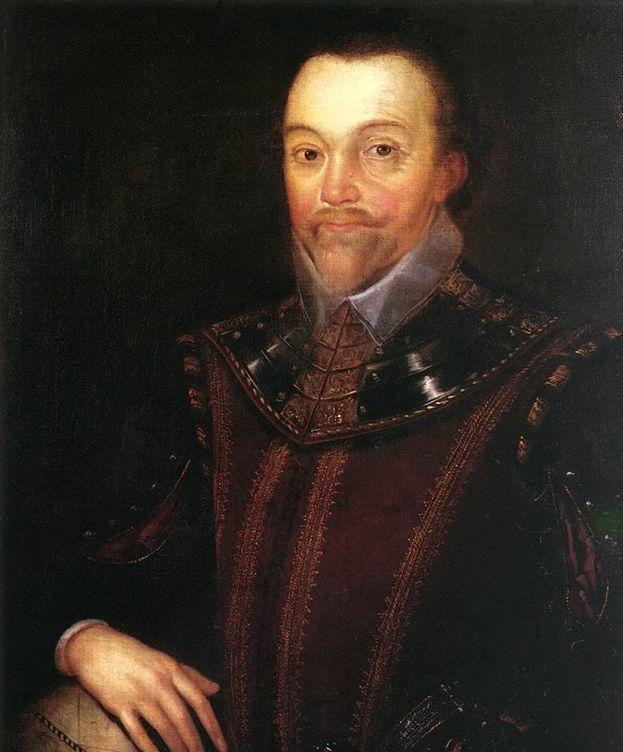 Foto: Sir Francis Drake retratado por Marcus Gheeraerts el Joven.