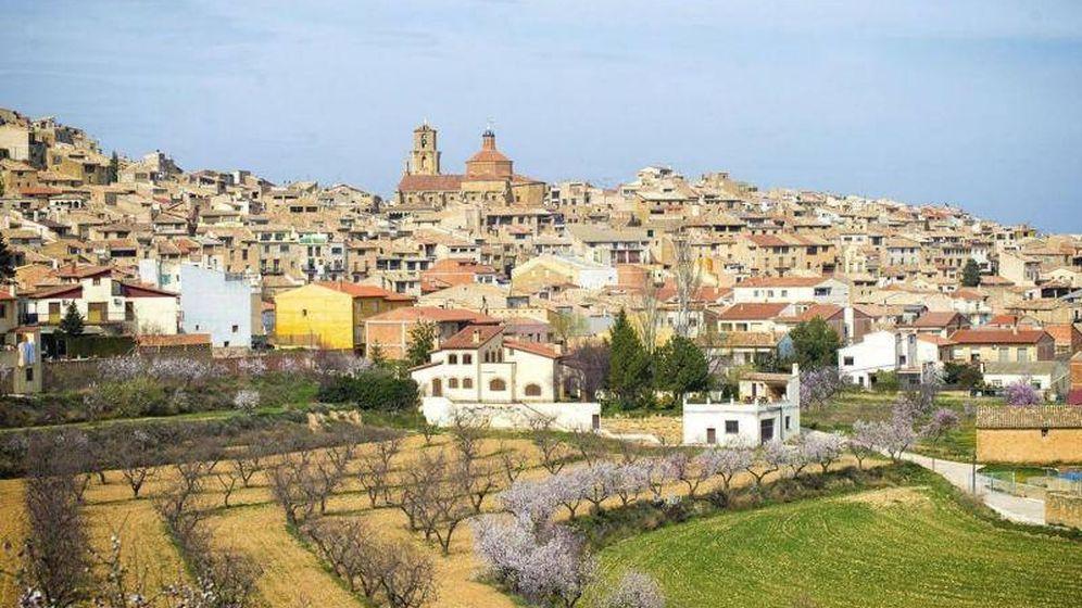 Foto: El pueblo de Calaceite, en Teruel.