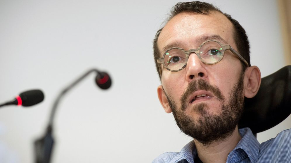 Foto: Pablo Echenique, secretario de Organización de Podemos. (EFE)