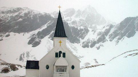 Las iglesias más australes del mundo están en la Antártida