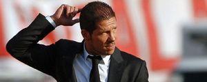 """Simeone: """"Sé que dirigiré al Atlético, pero no sé cuándo"""""""