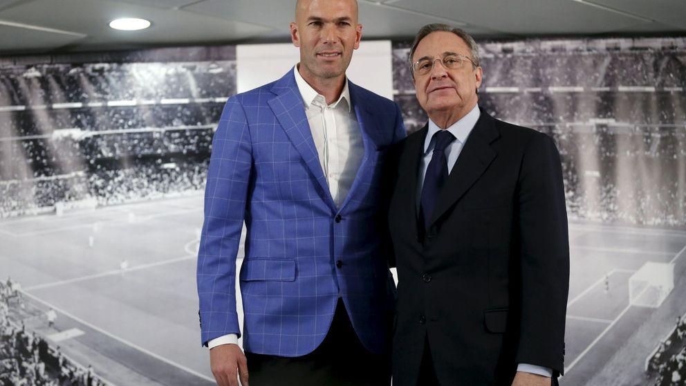 La negativa de Zidane que envió otra  Liga a las vitrinas del Camp Nou