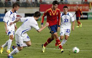 Morata vuelve a reivindicarse en la remontada de España ante Bosnia