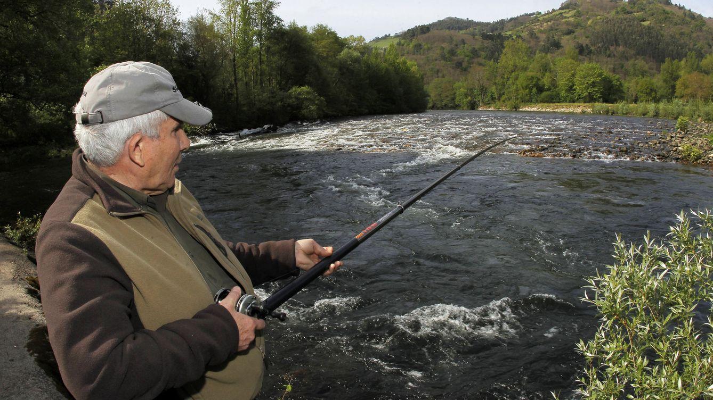 Foto: Alejandro Pérez Fernández, un veterano y experimentado pescador.