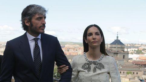 Eugenia Silva y Alfonso de Borbón, felices y muy cariñosos en Toledo